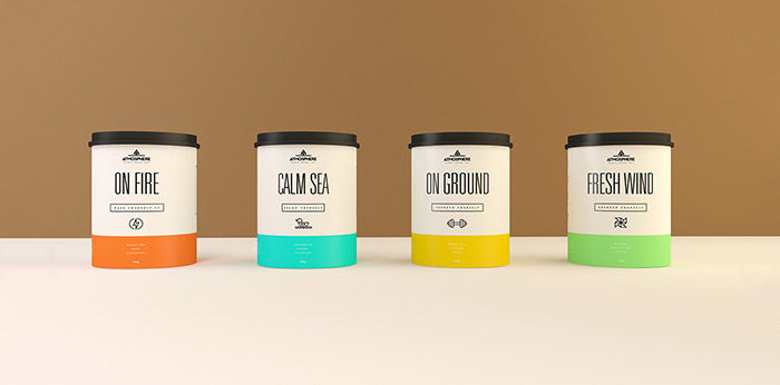 Atmospheric Tea Branding