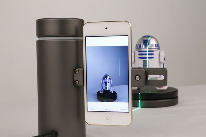 Smartphone 3D Scannners