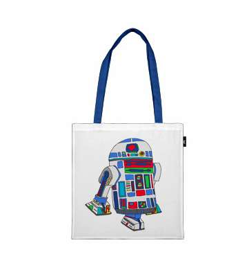 Epic Droid Tote Bag by Bianca Green