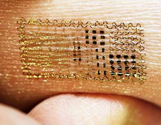 Circuitry Temporary Tattoos