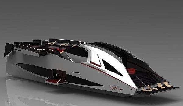 Sports Car-Inspired Yachts