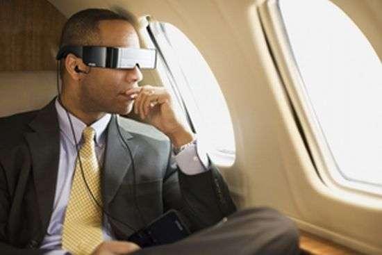 Transparent VR Glasses