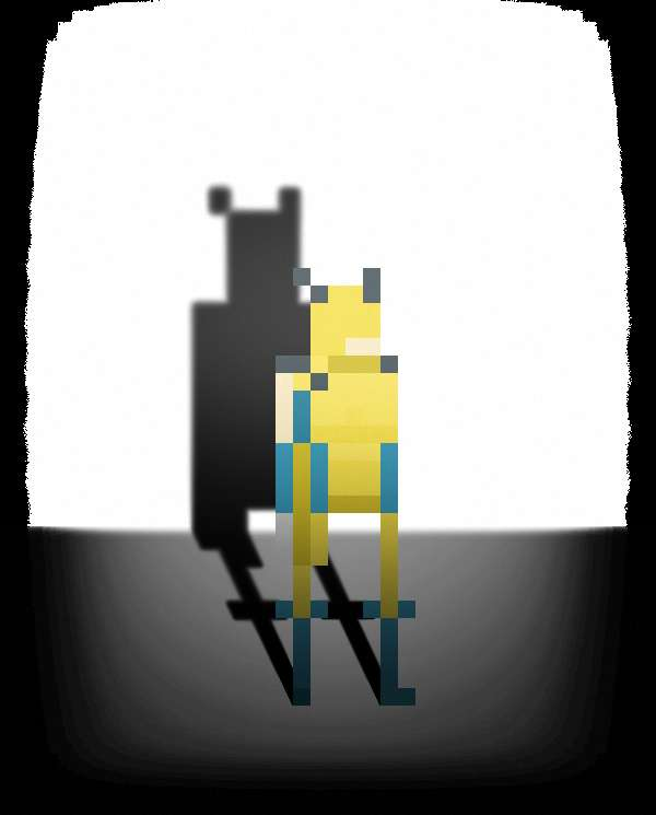 Pixelated Superhero Portraits