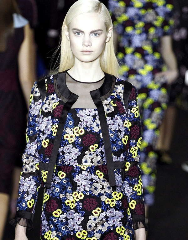Perforated Floral Frocks