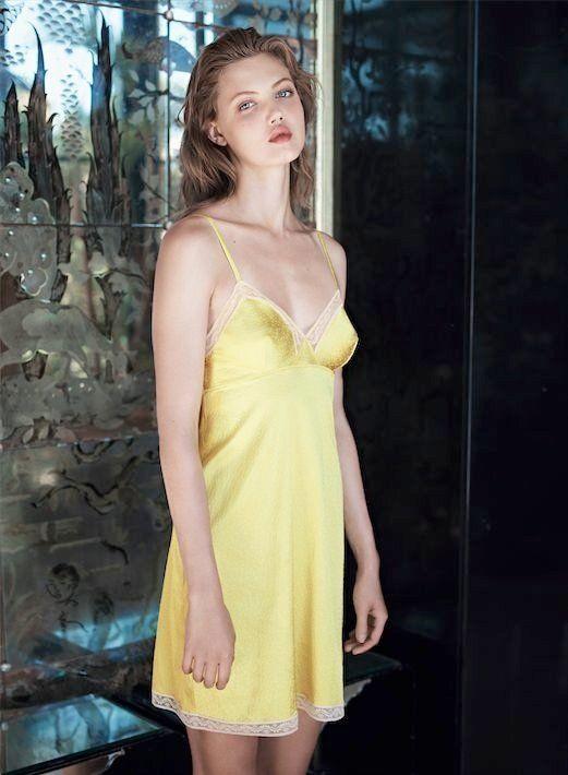 Demure Undergarment Ads Eres Lingerie Spring 2014