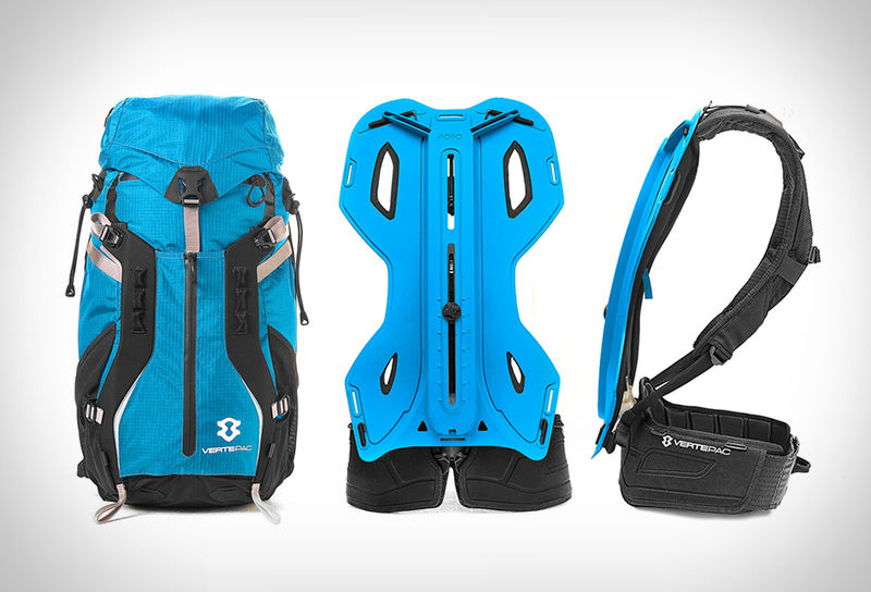 Spine-Supporting Backpacks