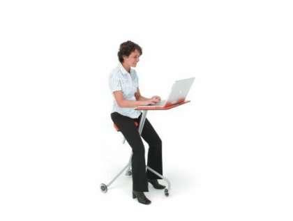 Desk Riding Ergonomic Scooterdesk