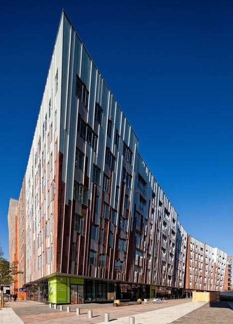 Elegantly Angled Edifices