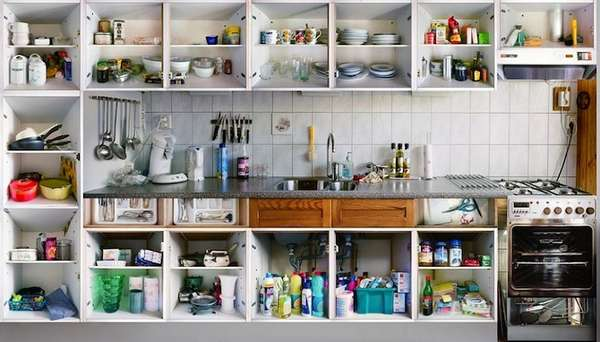 Cluttered Kitchen Captures
