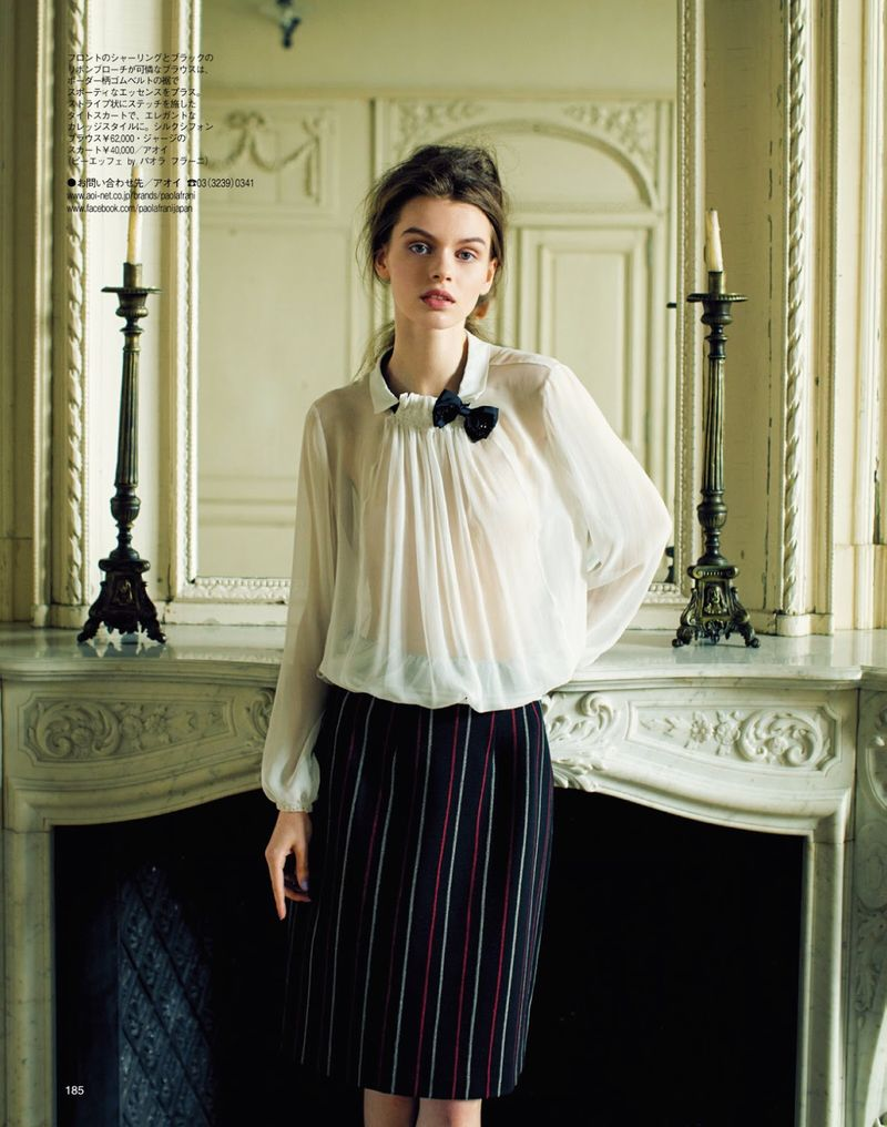 Sophisticated Chiffon Editorials