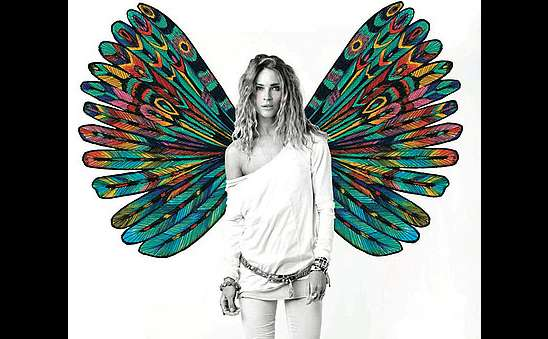 Kaleidoscopic Wings