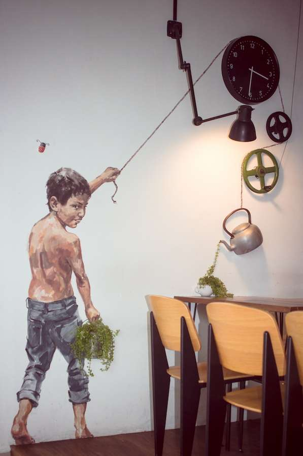 3D-Incorporated Art Decorations