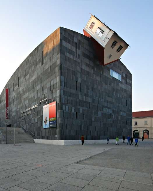 Erwin Wurm s House Attacks