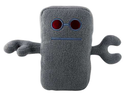 Boxy Plush Robots