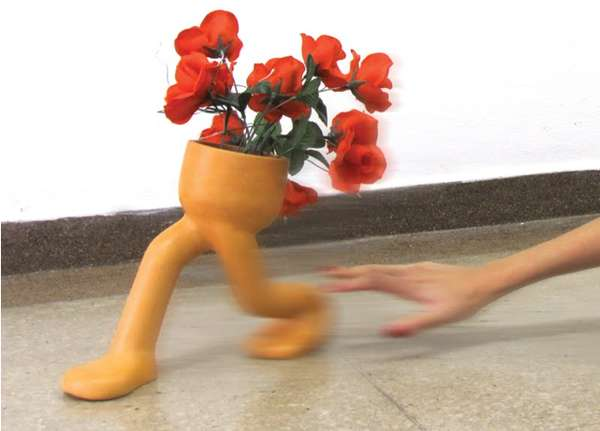 Escaping Flower Pot