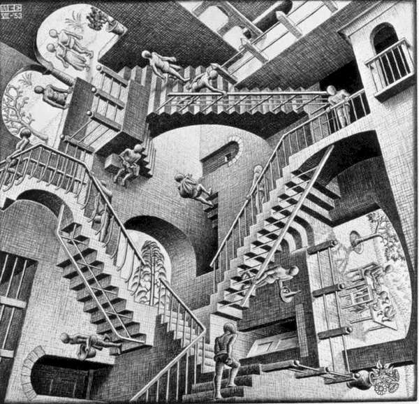 Interactive Escher Art