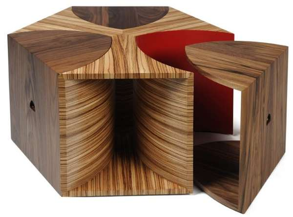 Tessellated Hexagon Tables
