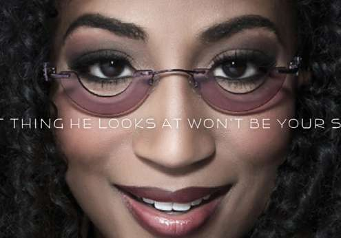 Crescent-Shaped Specs