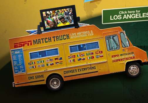ESPN World Cup Match Truck