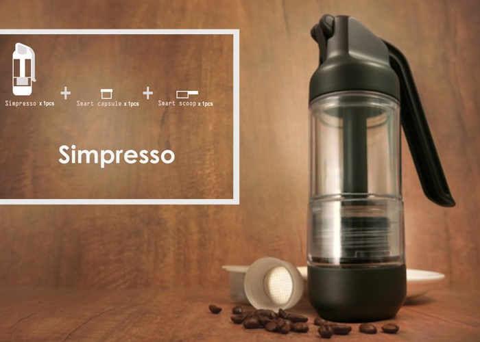 Simplified Portable Espresso Makers