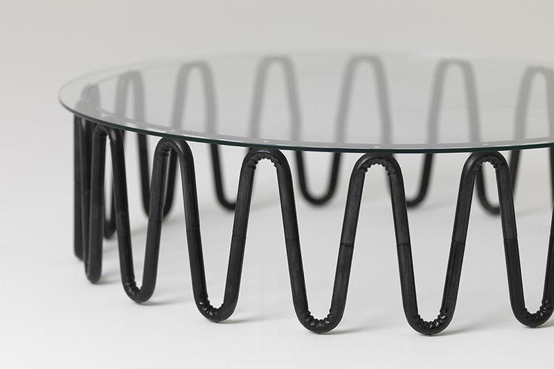 Wrinkly Steel Furniture