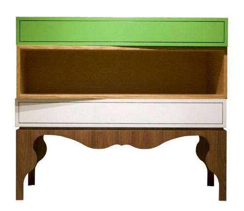 Colorblock Wood Furniture