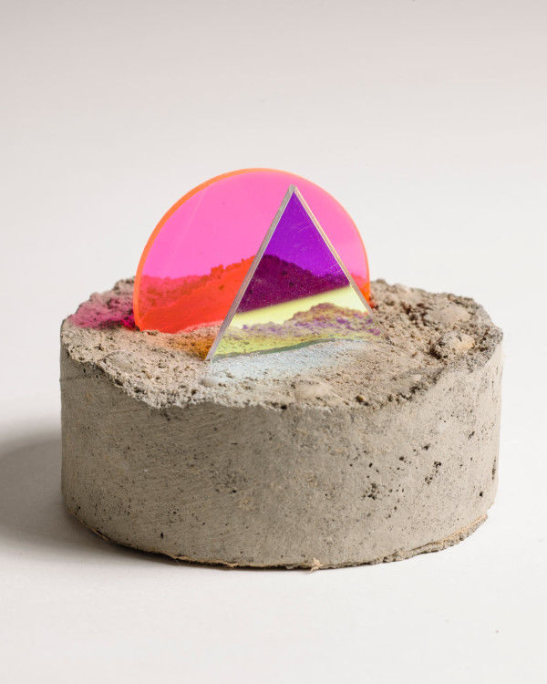 Geometric Concrete Sculptures