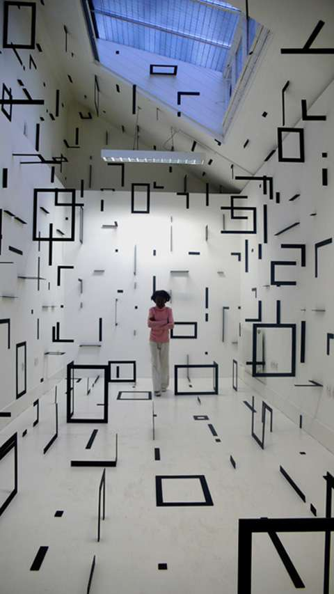 Mind-Bending Geometric Installations