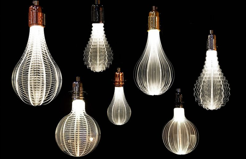 Laser-Etched Lightbulbs