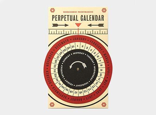 Circular Perpetual Calendars