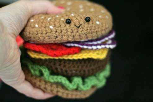 Adorable Crocheted Cuisine