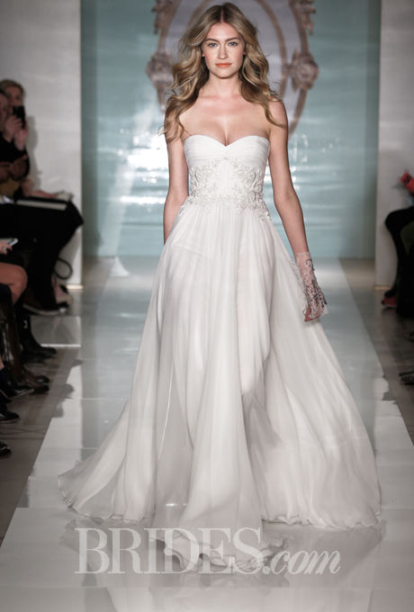 Ethereal Sheath Wedding Dresses