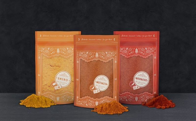 Ethiopian Spice Packaging