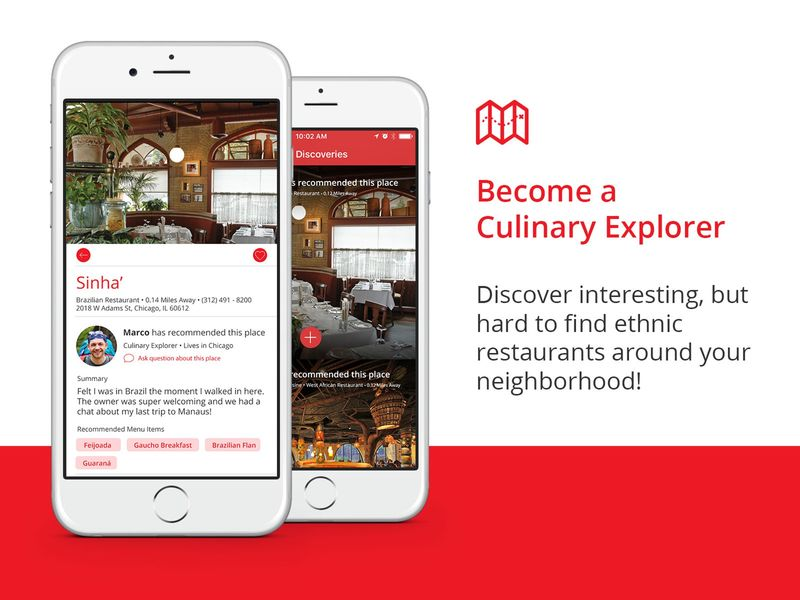 Ethnic Restaurant-Finding Apps