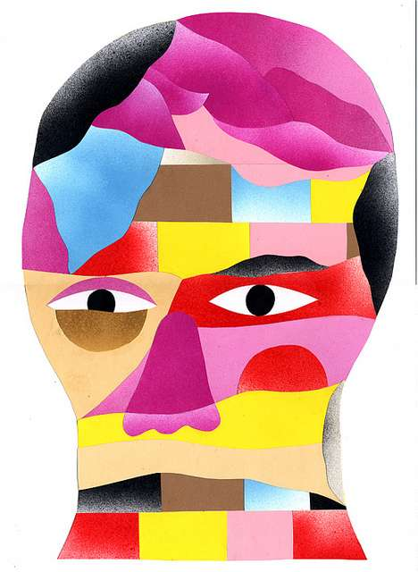 Peculiar Picasso-Like Portraits
