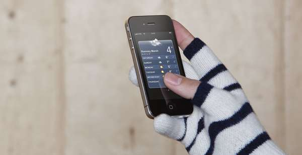 Smart Fingerless Mittens