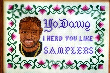 Rapper-Ready Embroidery