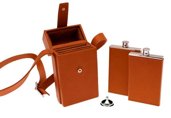 Ettinger Double Flask Case