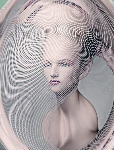 Delicately Distorted Portraits