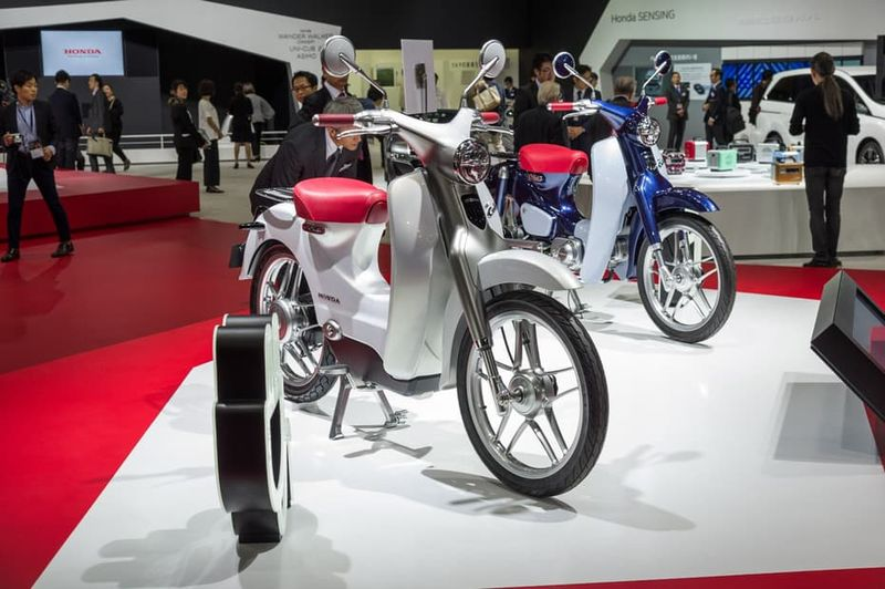 Electric Two-Wheeler Concepts