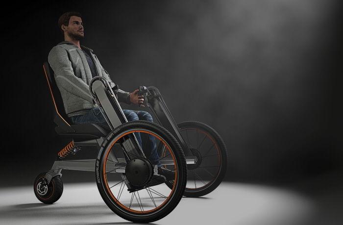 Transforming Paraplegic Bicycles