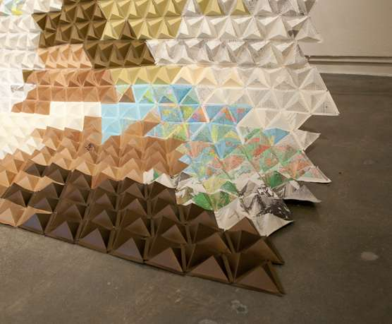 Oversized Origami Blankets