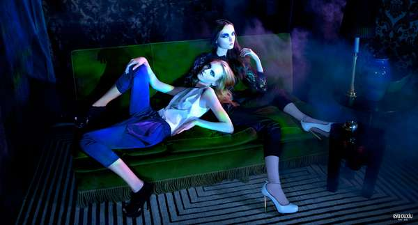 Vampy Blue-Lit Campaigns