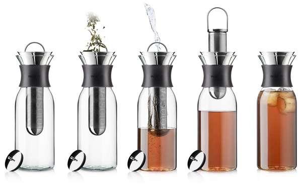 Sleek Summer Tea Pitchers