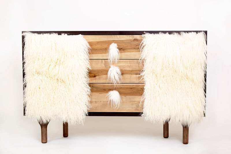 Fur-Trimmed Furniture