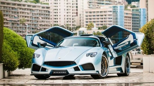 Fierce Italian Supercars Evantra