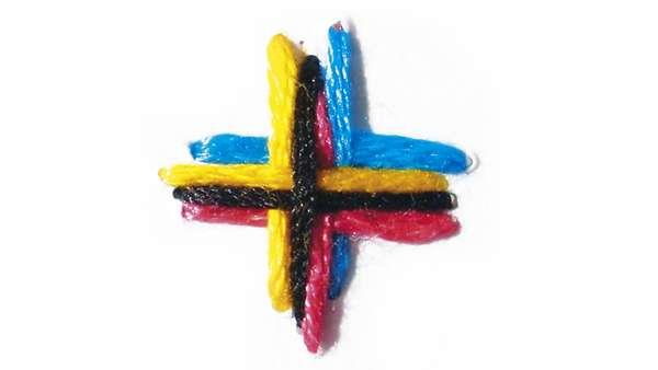 Contemporary Cross-Stitching