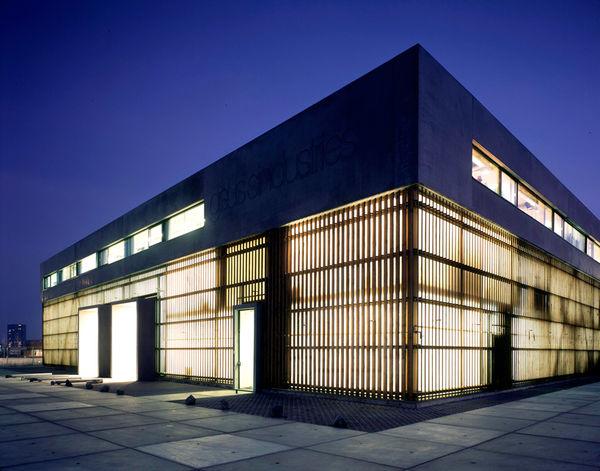 Floating Concrete Headquarters