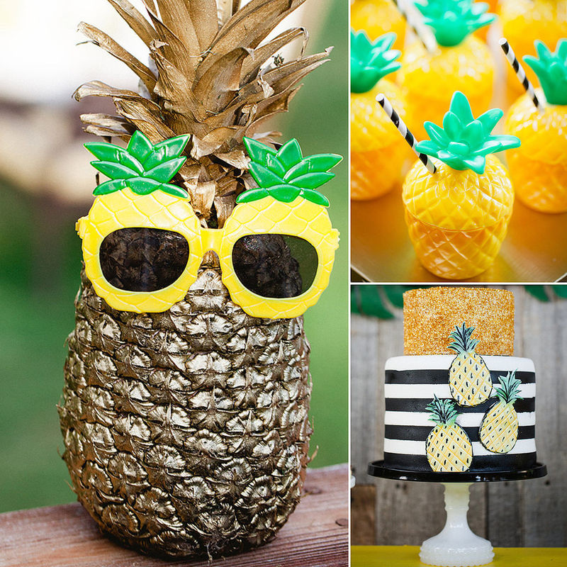 Festive Pineapple Parties