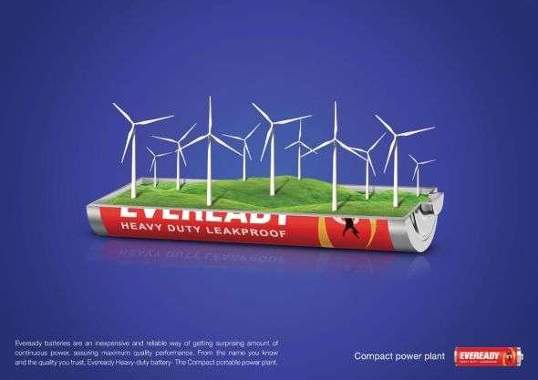 High Powered Energy Campaigns Eveready Heavy Duty Battery